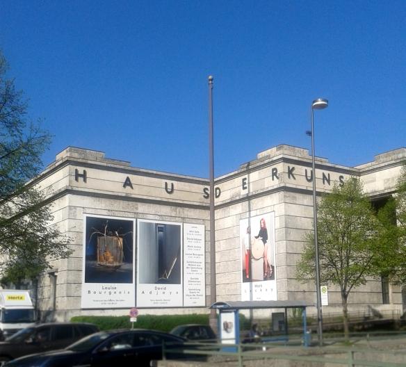louise Bourgeois im Haus der Kunst